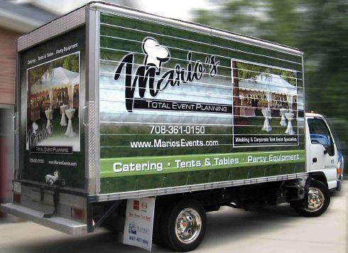 Mario's Box Truck