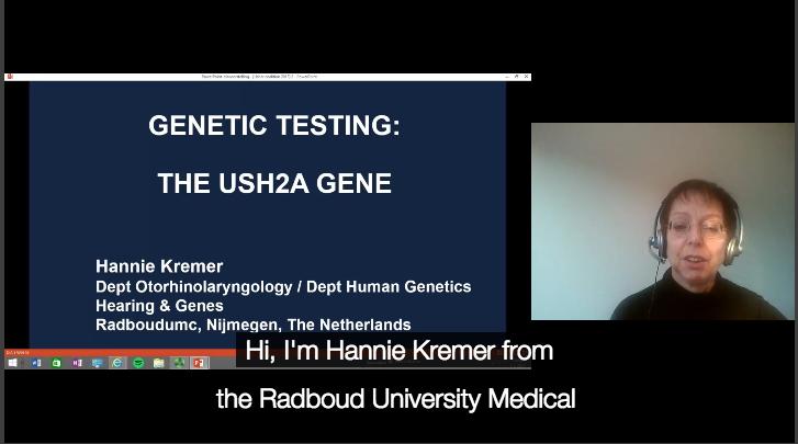 Genetic Testing: The USH2A Gene