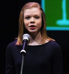 """Margaret """"Peggy"""" Payne, 2012 Alabama Poetry Out Loud Champion"""