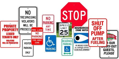 Traffic Signs / Directional