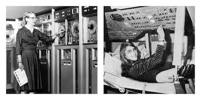 Grace Hopper and Margaret Hamilton Awarded Presidential Medal of Freedom for Computing Advances