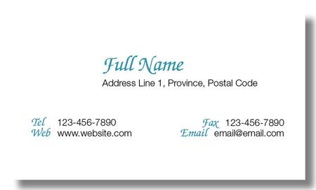Model #050: Kwik Kopy Design and Print Centre Halifax Business Cards