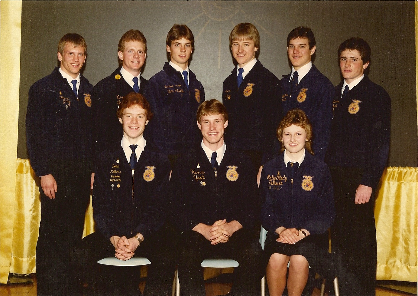 Nebraska FFA Past State Officers & Special Donors