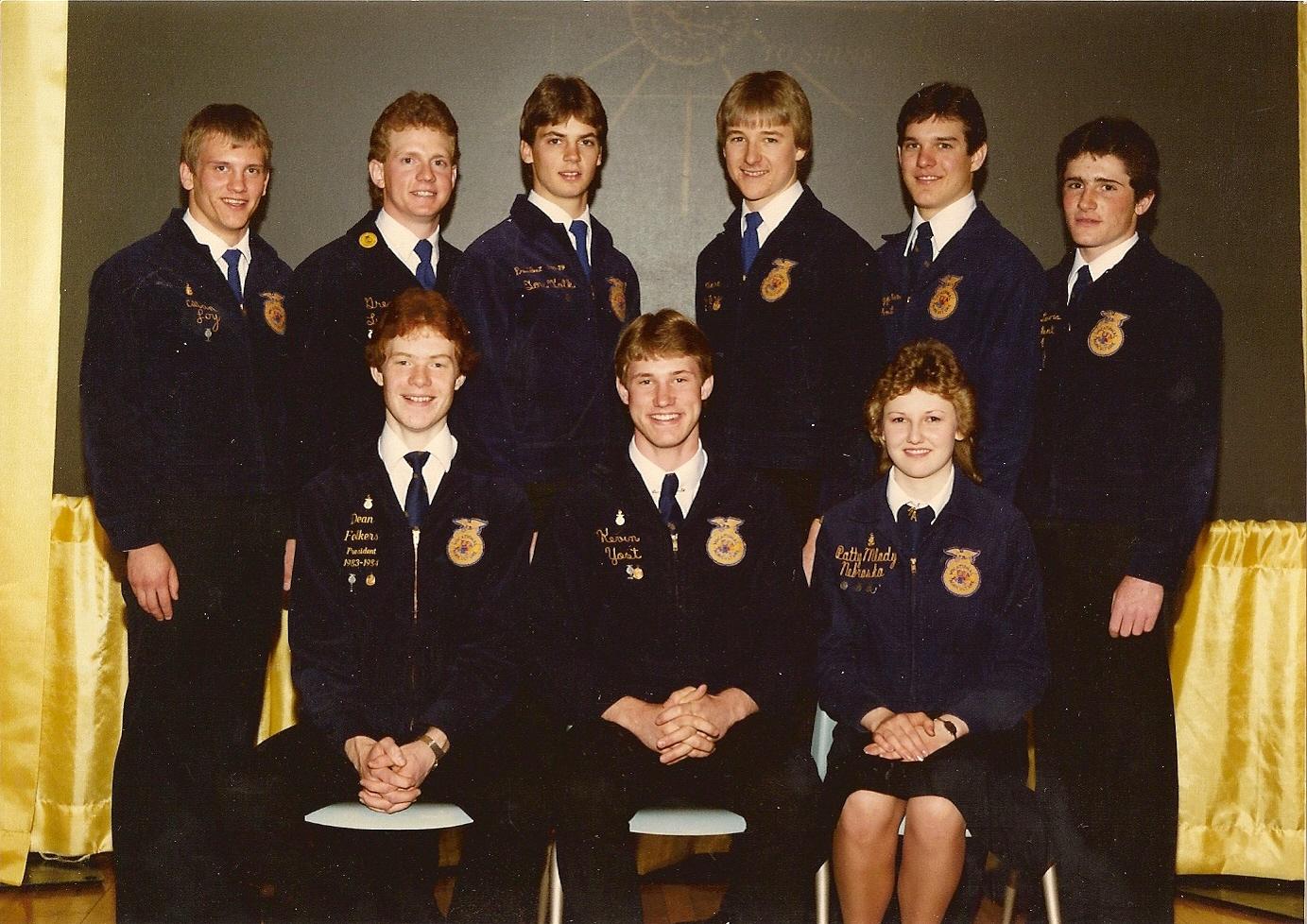 Nebraska FFA Past State Officer & Special Donor Reception