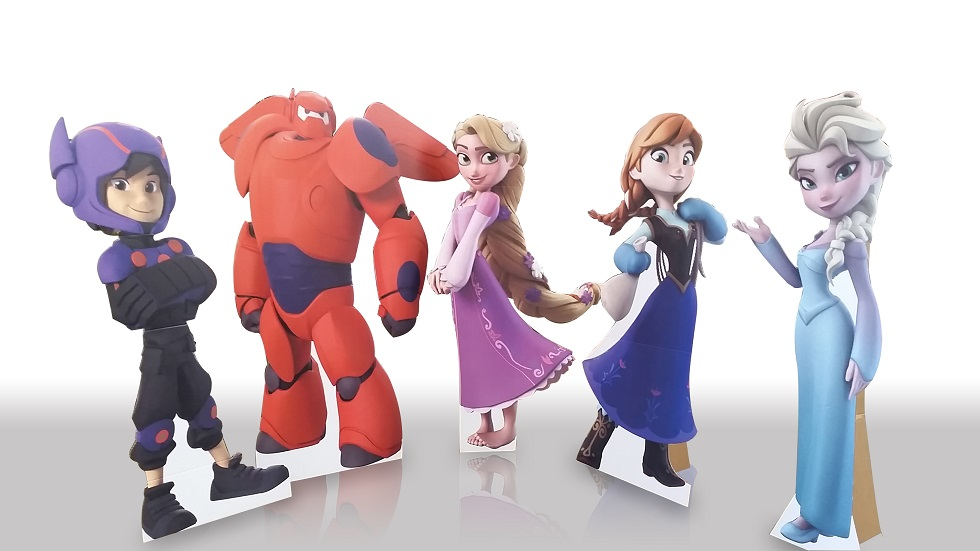 Cartoon Characters Cutouts