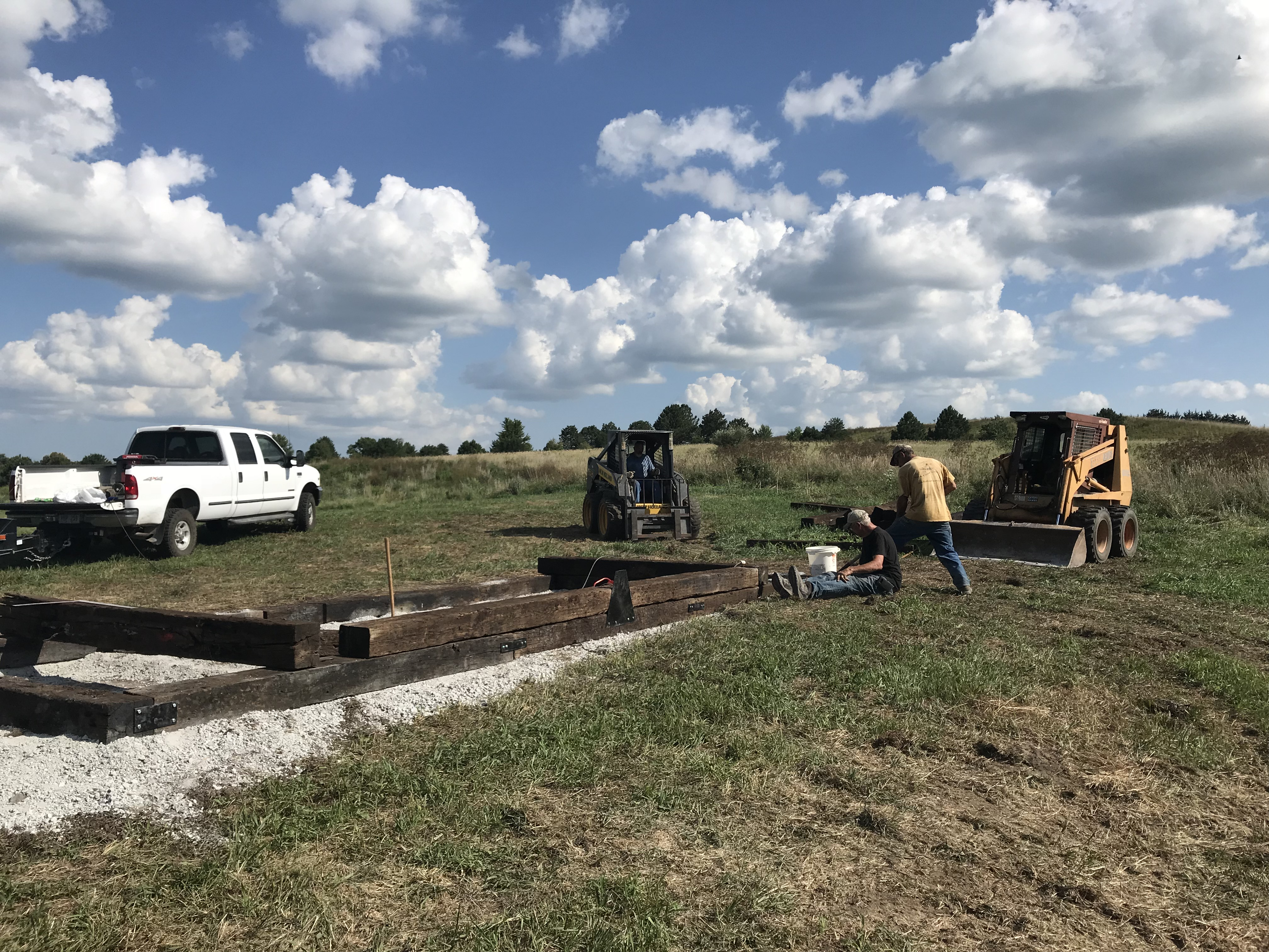 Construction Begins on Trail Activity Course