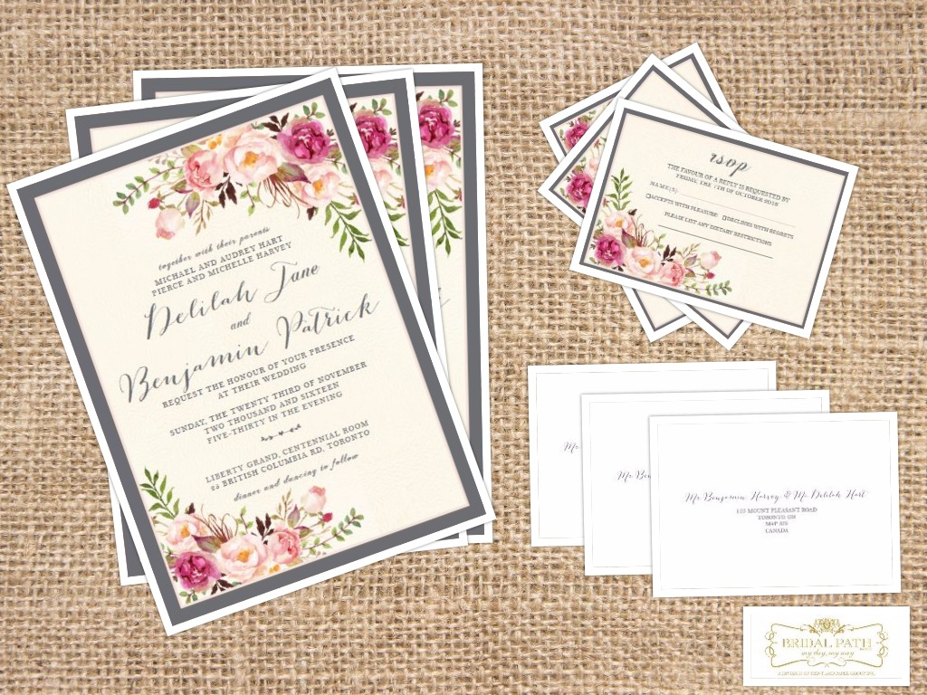 Invitations; wedding; stationery; yorkville; wedluxe; wedding ...