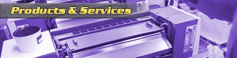 Products & Services Masthead