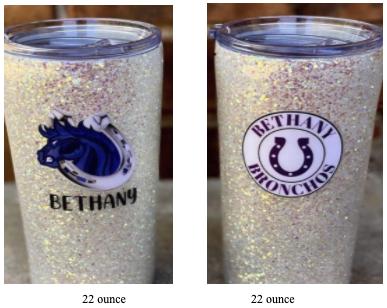 Bethany Pom Tumblers - Deadline 11/16