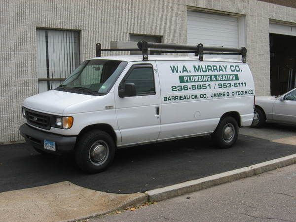 Fleet Graphics, Ford Econoline Van, Lettering & Graphics