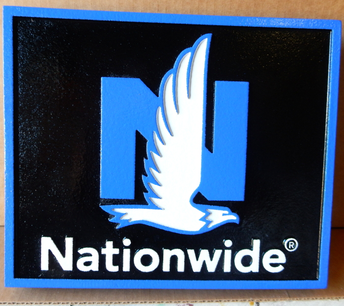 C12508 - Nationwide Logo Plaque for Insurance Agents