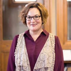 Susanne Blue,  CMSW, Executive Director