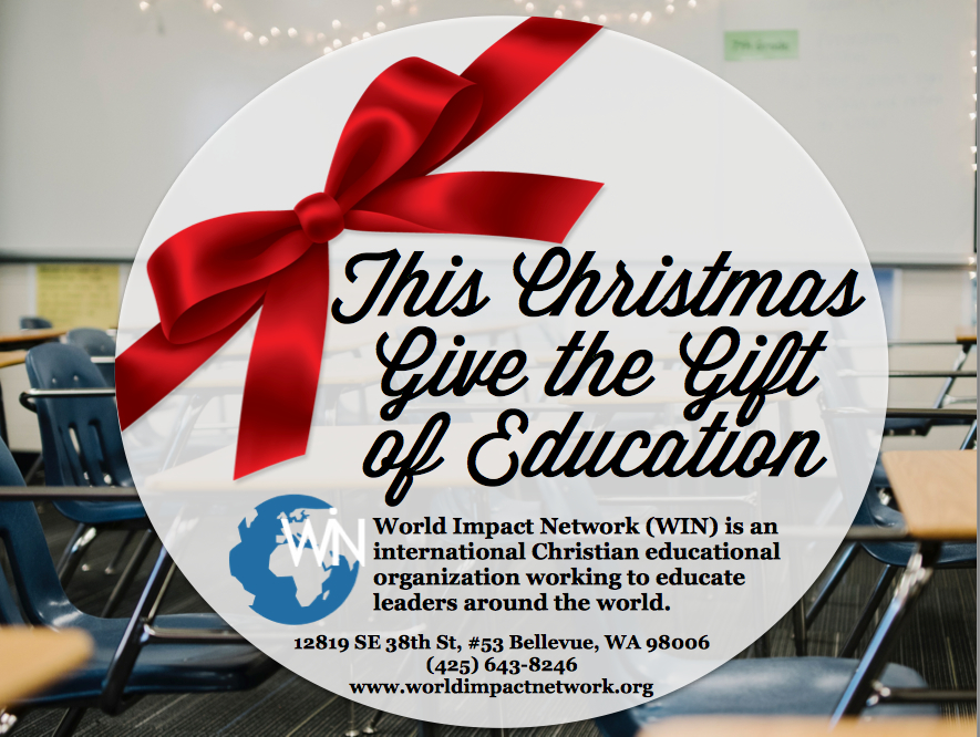Help Educate Students at The New International University