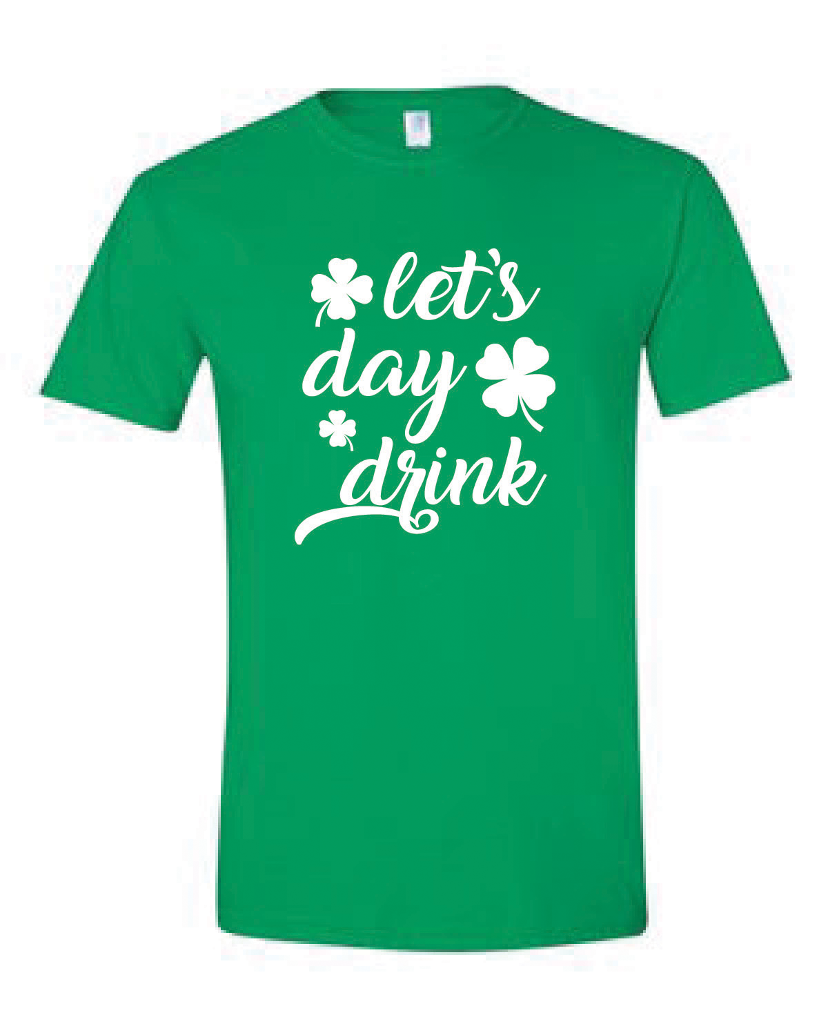 Short Sleeve Softstyle Tee (LET'S DAY DRINK)