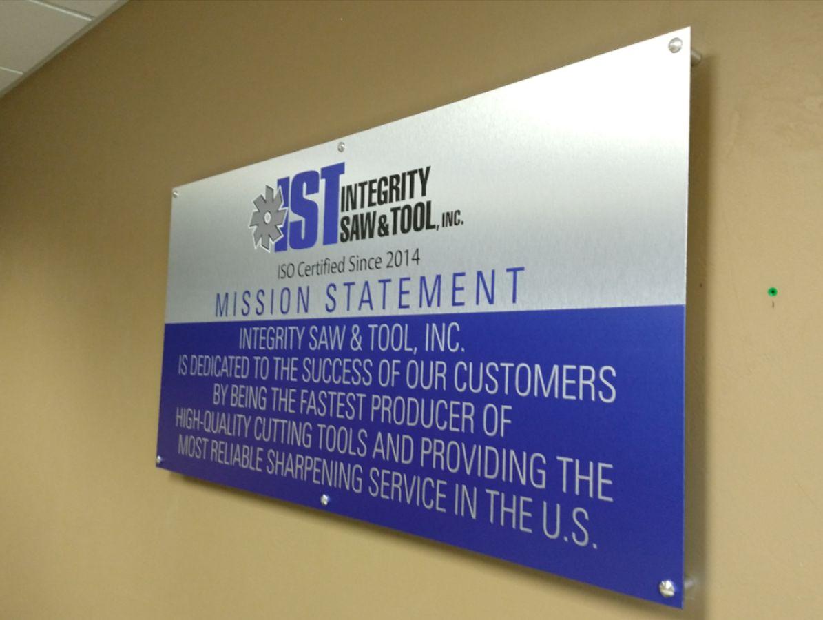 IST interior sign