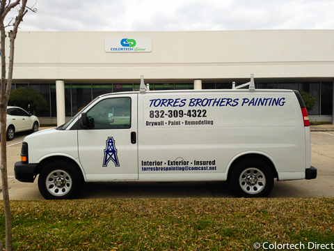 4e6f0accc1662a Houston and The Woodlands Vehicle Lettering