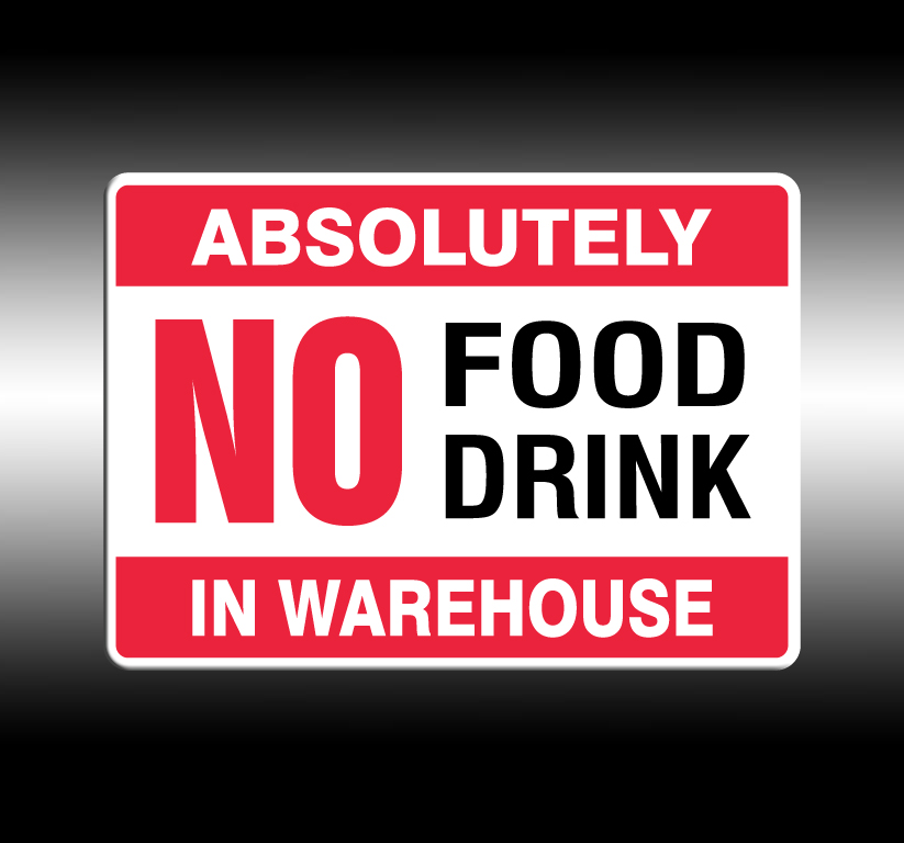 No Food/Drink