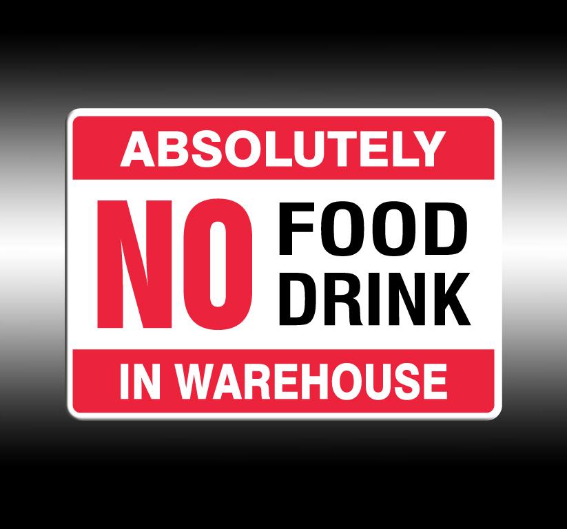 No Food/Drink