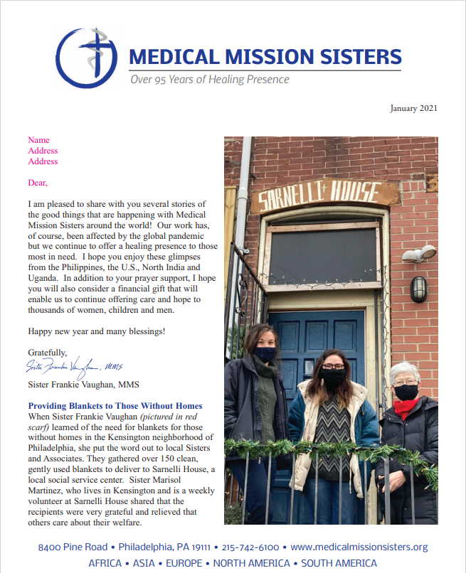 MEDICAL MISSION SISTERS Over 95 Years of Healing Presence