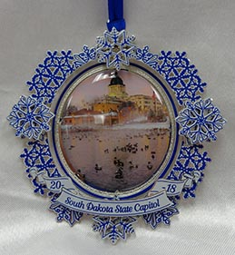 2018-4th Annual State Capitol Collectible Ornament