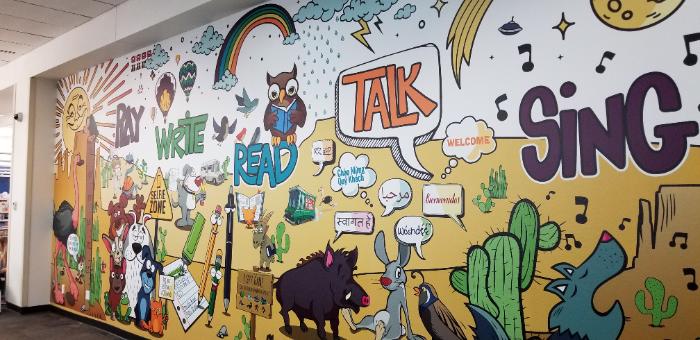 Library Wall Murals | Chandler AZ