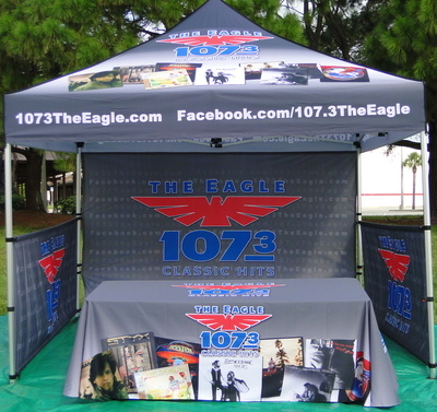 Tent and Table Display 4