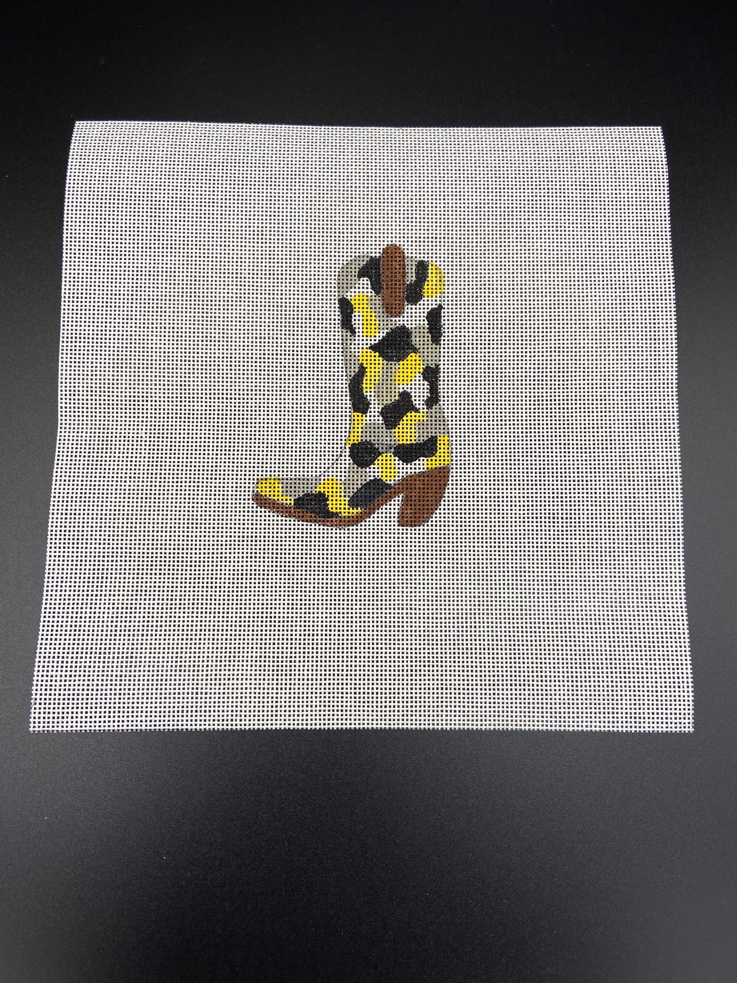 Black & Yellow Boot