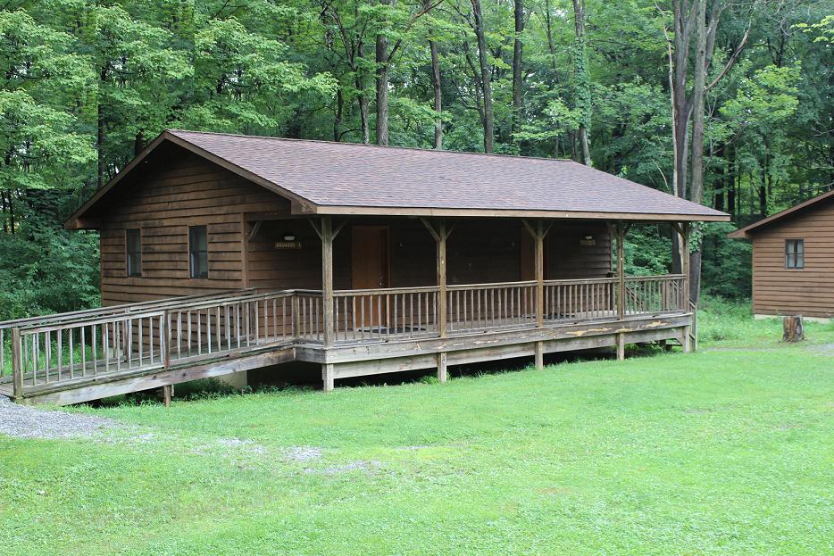 Arbor Village Cabin Exterior