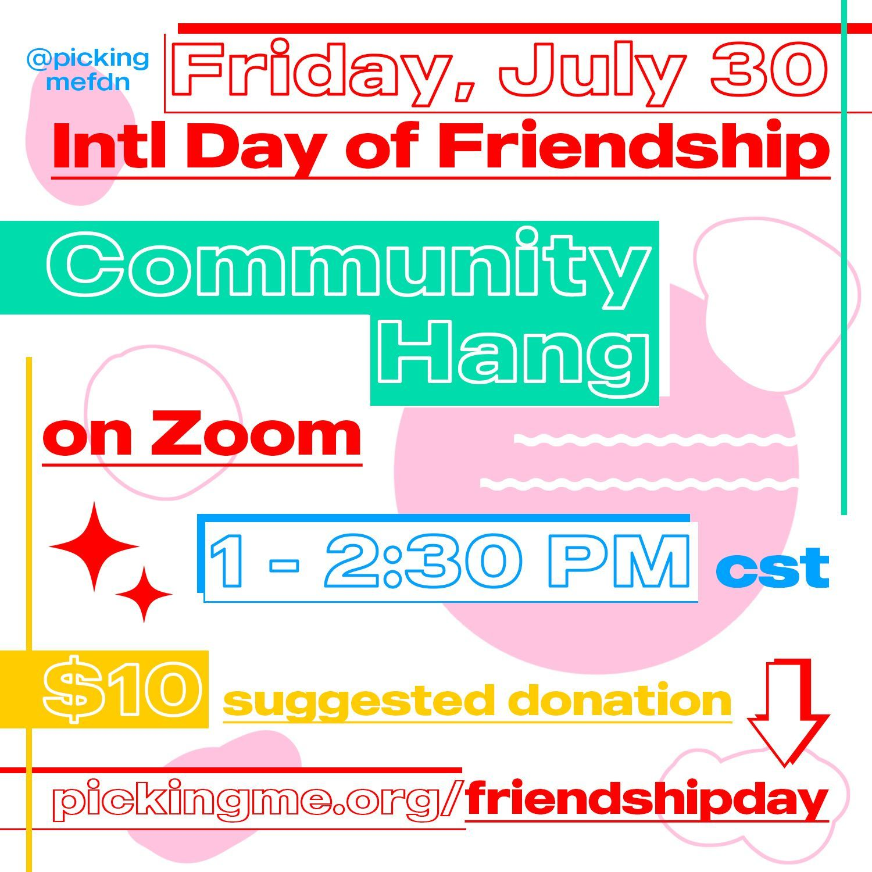 International Friendship Day Community Hang