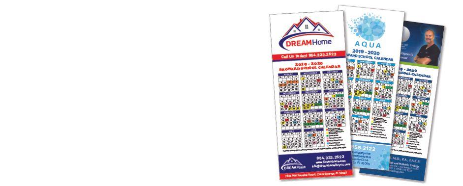 2021-2022 Broward & Palm Beach School Calendars