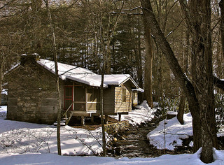 Go Winter Camping or Rent a Cabin