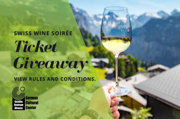 Win 2 Tickets to the Swiss Wine Soirée