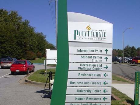 Southern Poly Directional Sign