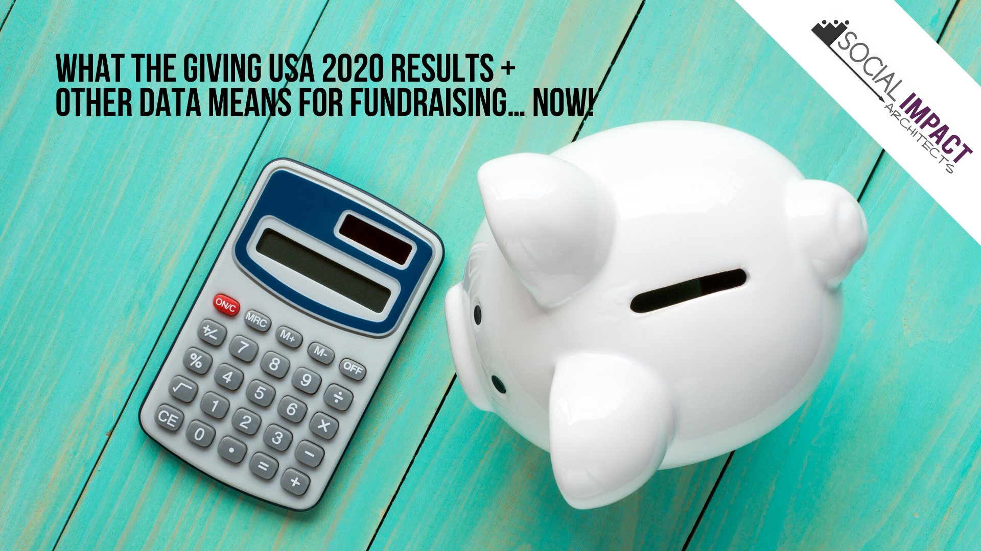 [Zoom Meeting] What the Giving USA 2020 Results & Other Data Means for Fundraising… Now!