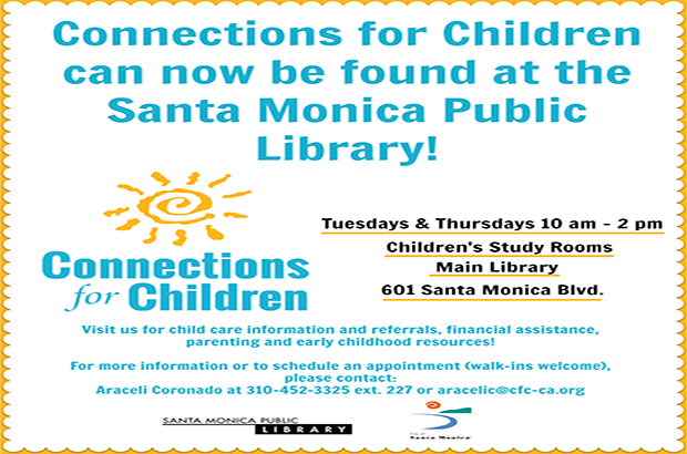 You can now find us at the Santa Monica Public Library!