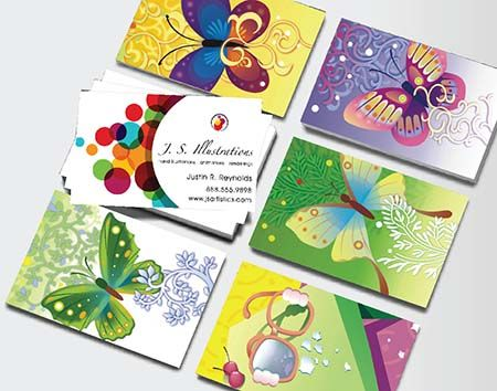 Mosaic Business Cards