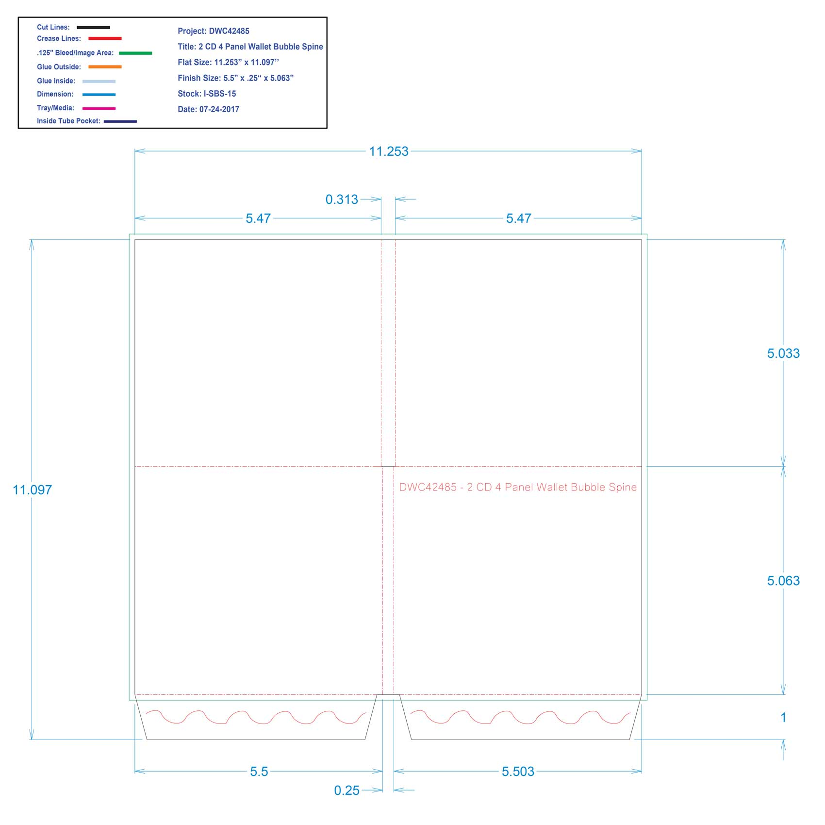 DWC42485_2-CD 4_Panel Wallet Bubble Spine