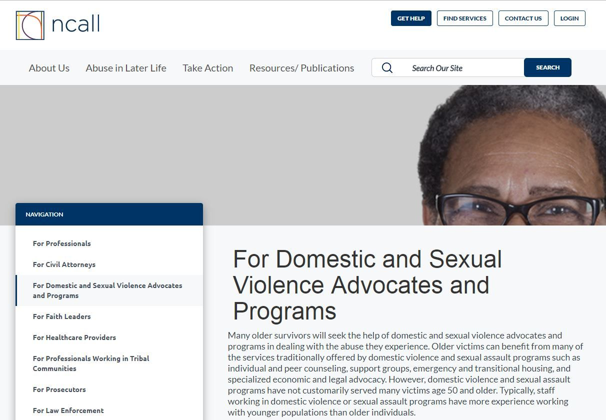 A guide for Domestic and Sexual Violence Advocates and Programs
