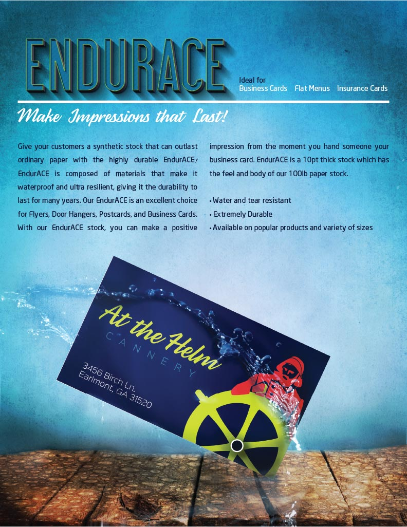 Endurace Business Cards