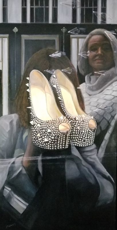B.G. Punk The Shoes in Window #4