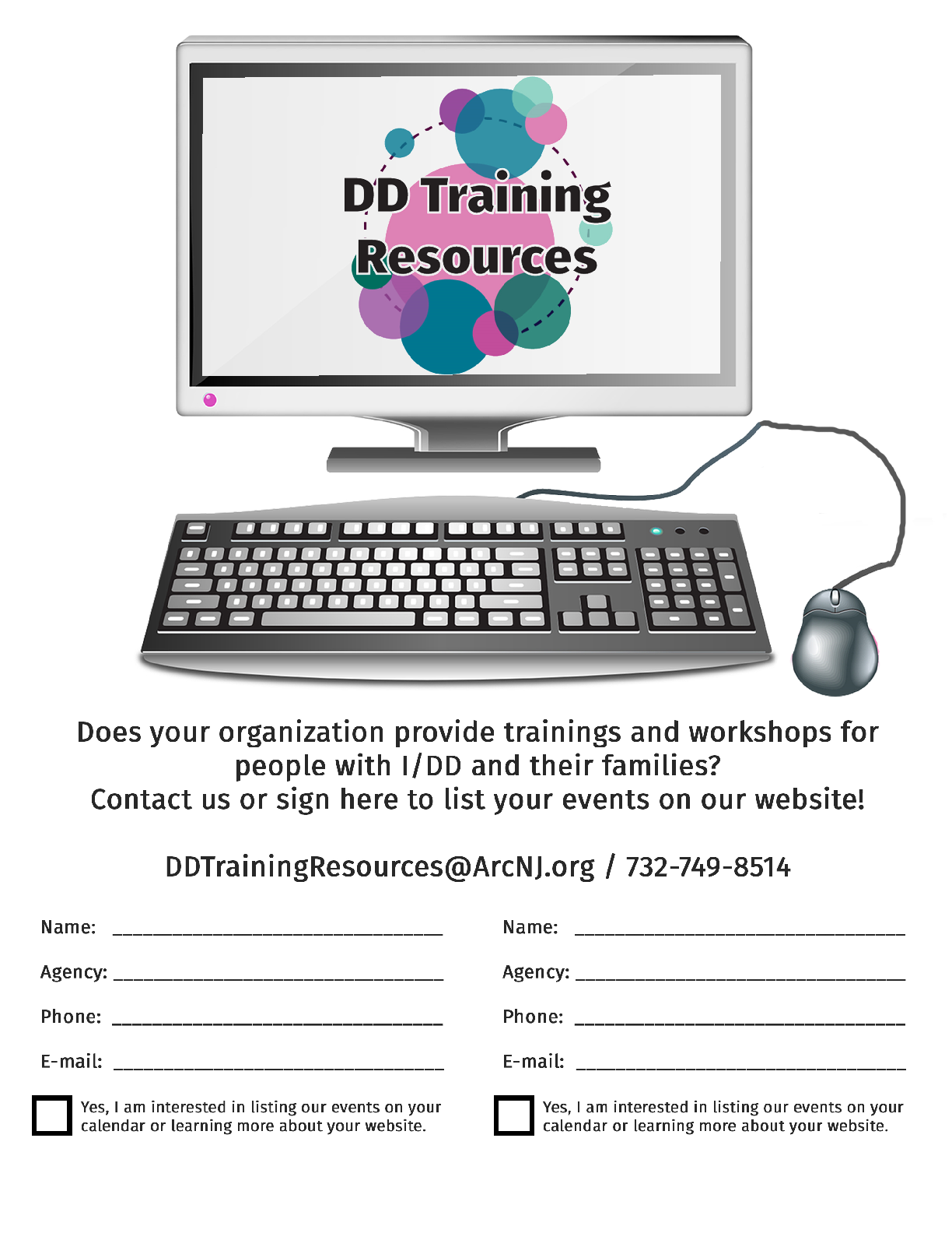 Does Your Organization Provide Trainings or Workshops?