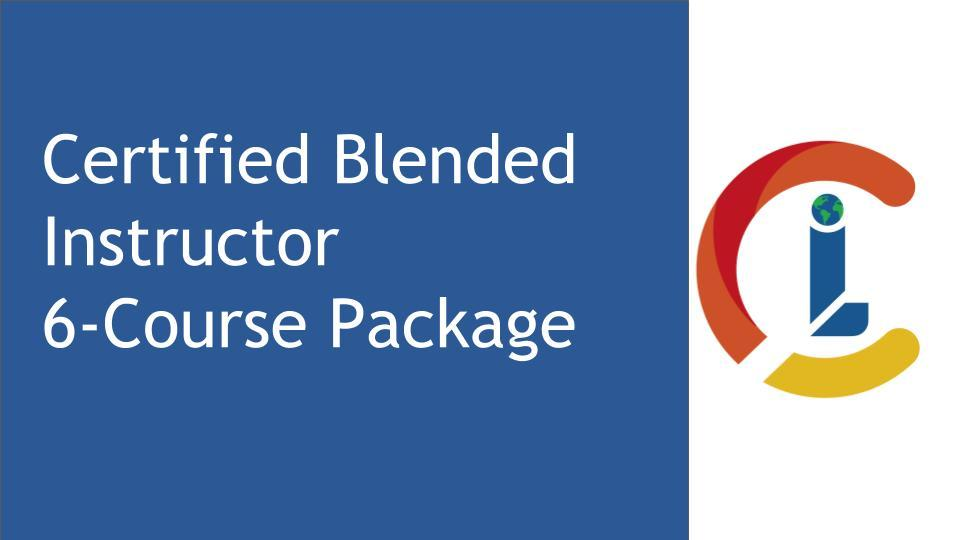 Certified Blended Instructor 6-Course Package