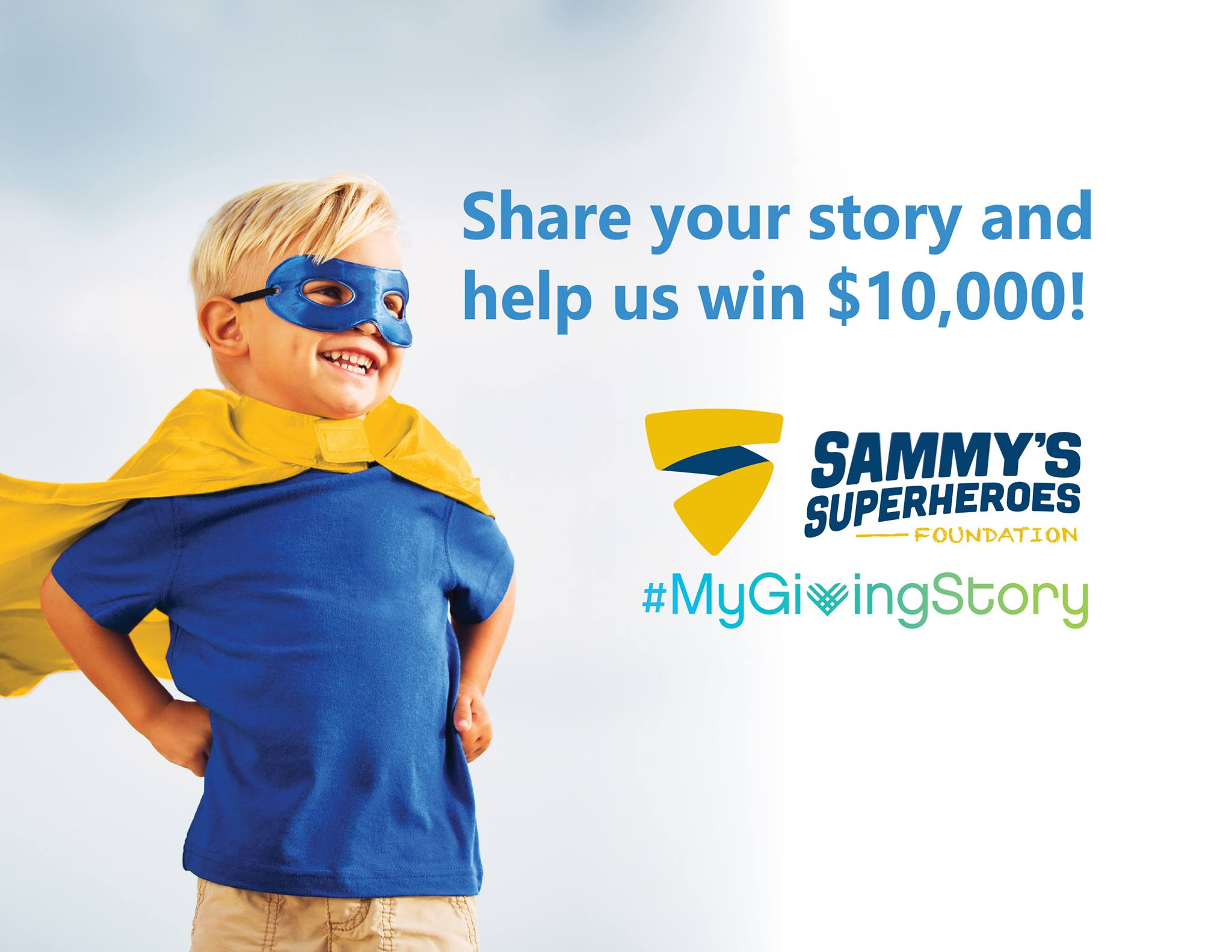 Share Your Story - Help us win $10,000 in Grants