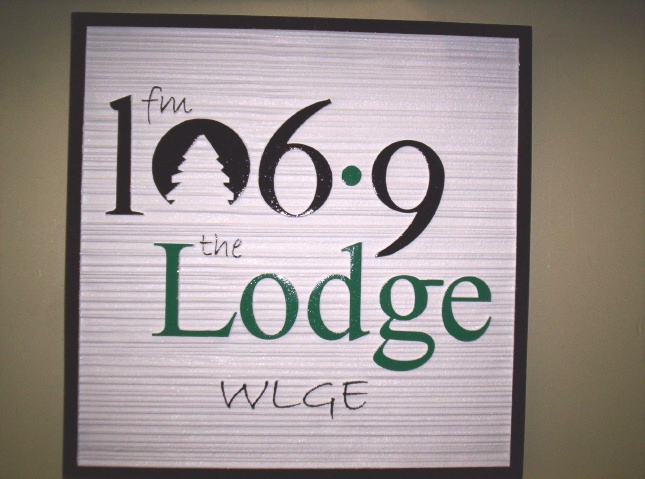 M1593 - Radio Station Interior Wall Sign (Gallery 28A)