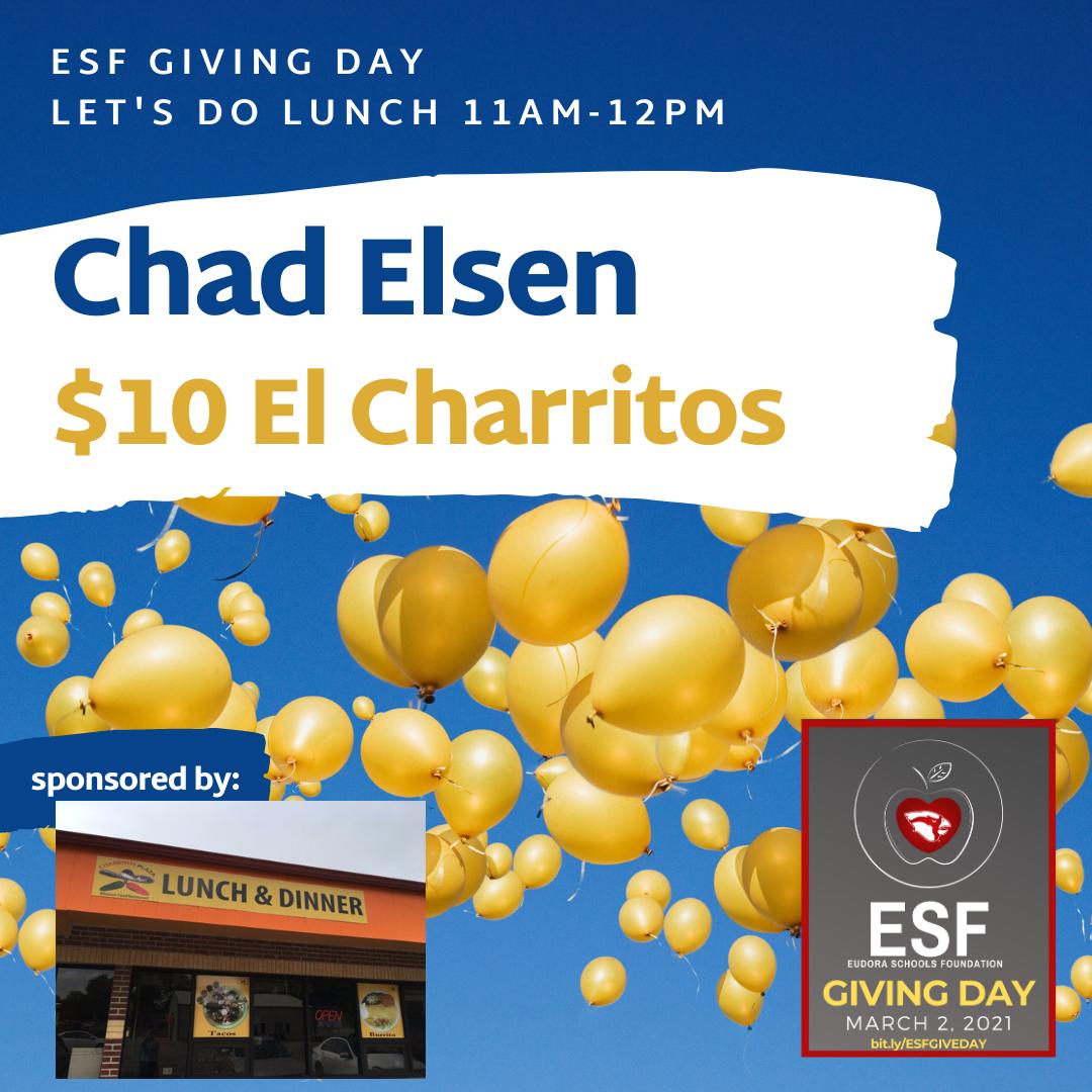 Let's Do Lunch - $10 El Charritos