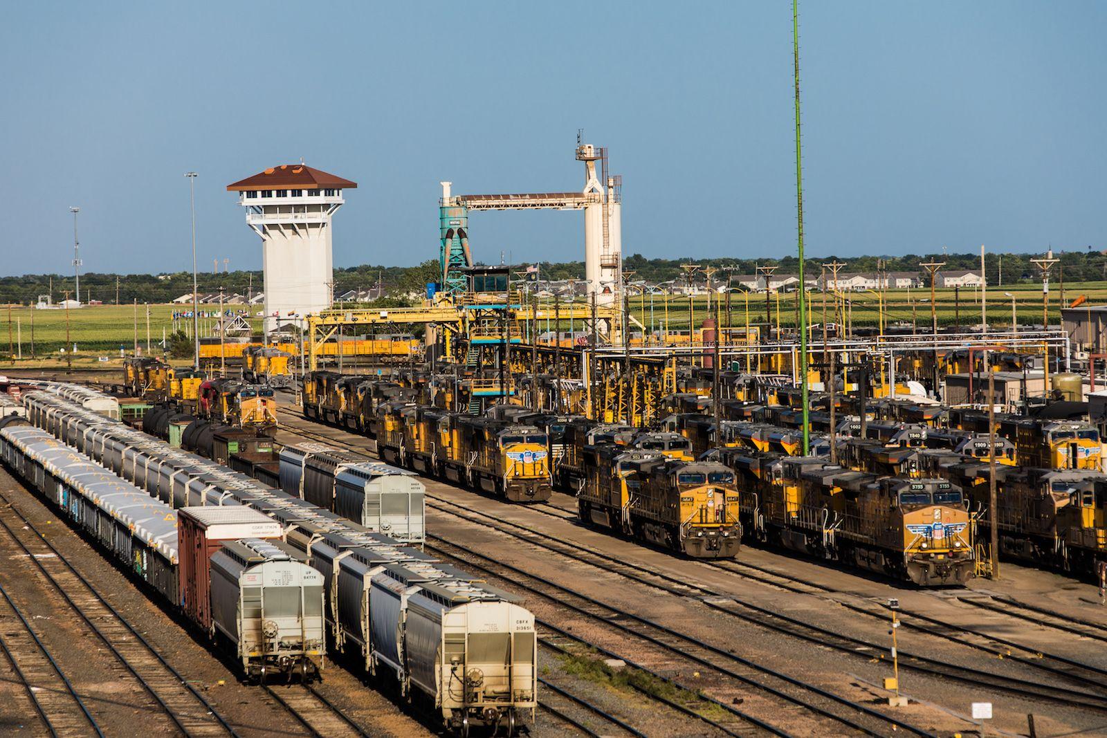 The Union Pacific Railroad