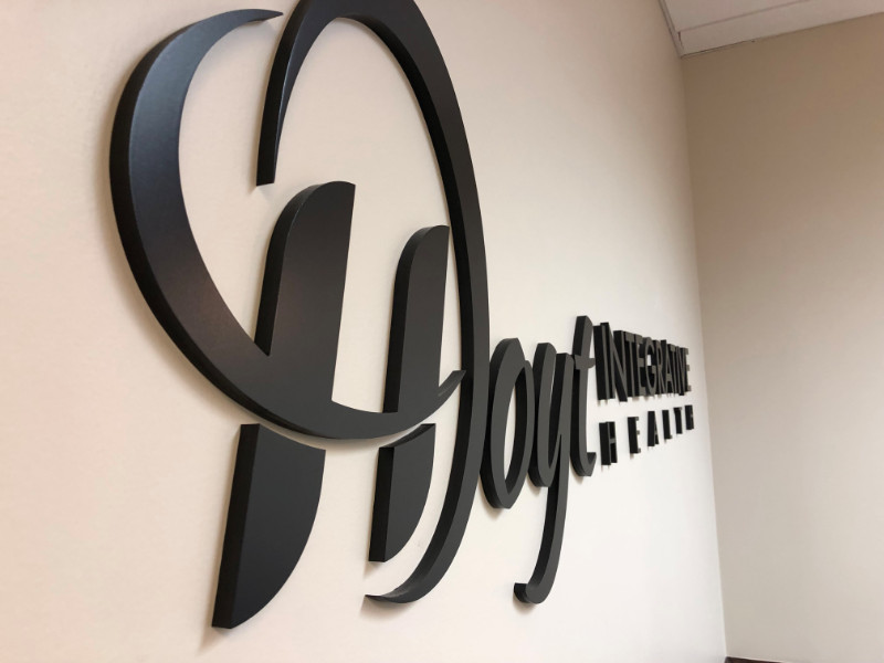 3D Lobby Logo Wall Signs for Offices in Orange County CA