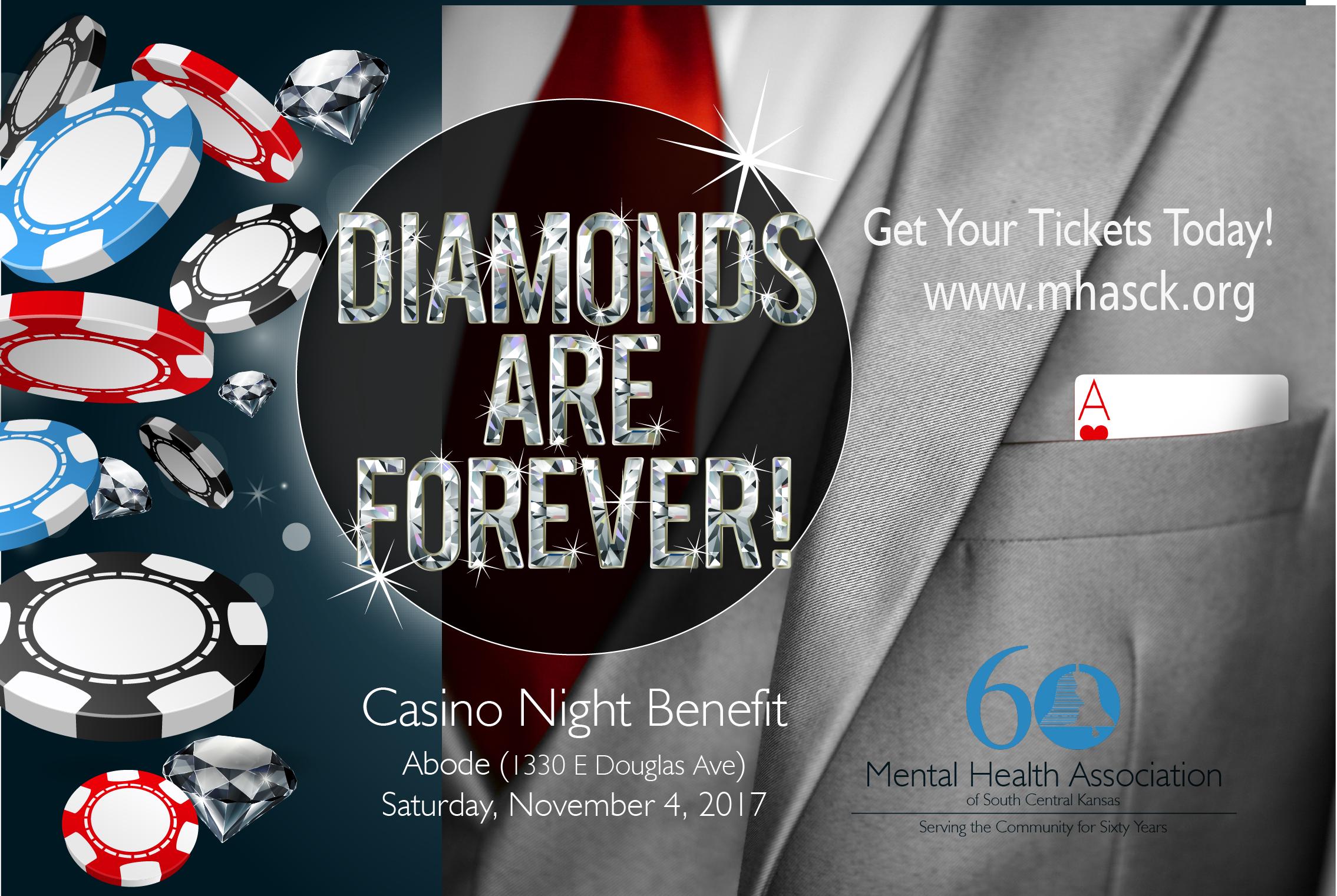 Diamonds Are Forever Casino Night Event