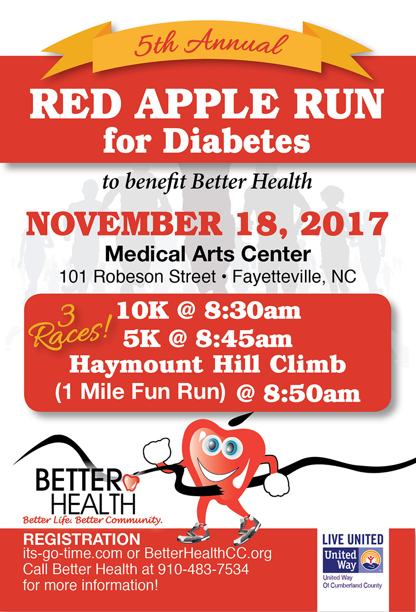 Red Apple Run for Diabetes