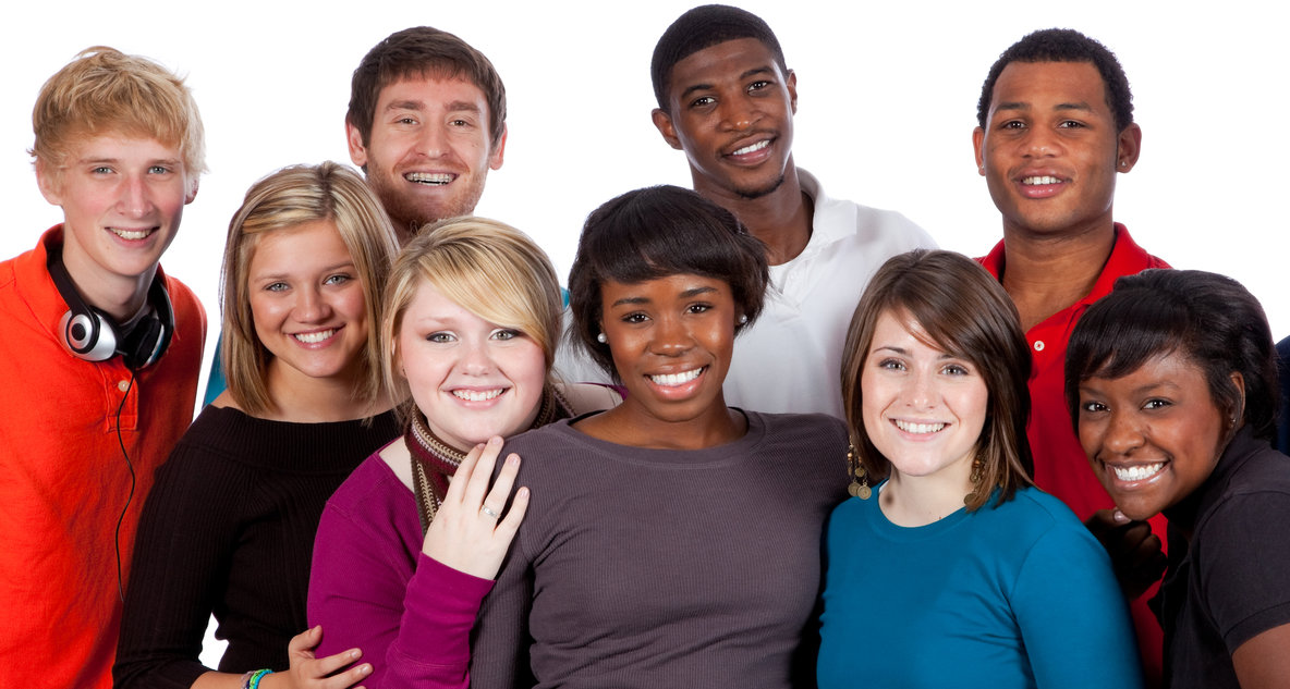 Multi - racial students